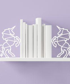 Laissez les licornes veillez sur le savoir de votre bibliothèque et retenir vos livres