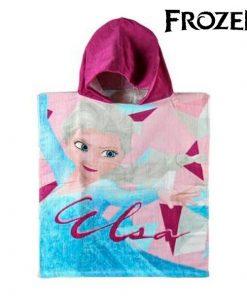 Serviette poncho avec capuche Frozen 6757