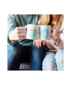 Dégustez votre café avec votre âme sœur avec ces jolis mugs assortis Mr Wonderful