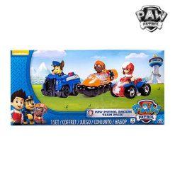 Set de voitures The Paw Patrol 6824 (3 pcs)