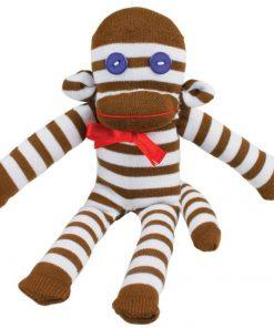Un kit complet et amusant pour fabriquer un singe à partir d'une paire de chaussette