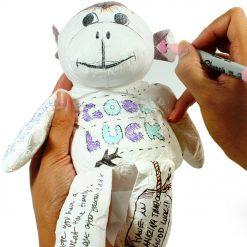 Un joli petit singe à décorer en papier