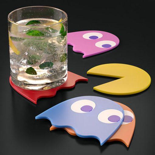 Ajoutez de la couleur à vos apéros Une déco fun et geekSous-verres antidérapants