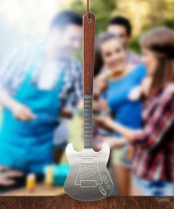 Apportez un côté Rock à vos barbecuesAccessoire fun et pratiqueCuisinez en air guitare