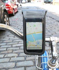 Accrochez votre téléphone à votre guidonProtection étancheSupport compact