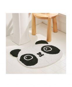 Tapis doux et moelleuxAccessoire très mignonUn panda dans votre maison100 % coton