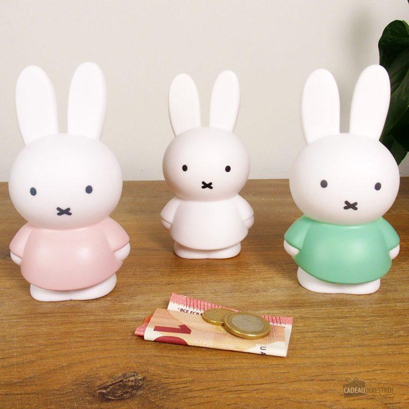 Cette tirelire lapin Miffy sera idéale pour mettre des petites économies !