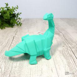 Cette jolie veilleuse diplodocus verte en polyrésine sera parfaite pour veiller à ce que votre enfant s'endorme paisiblement.