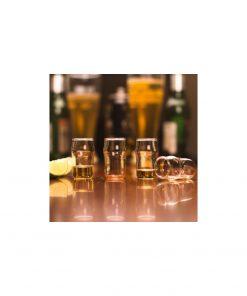 Changez de la pinte de bière en la transformant en verre à shooter !