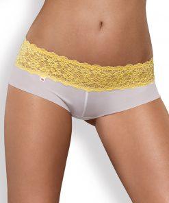Lacea Pack String & Shorty - Blanc & Jaune