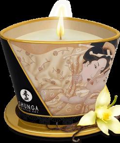 Bougie de massage lueur & caresses - Désir vanille