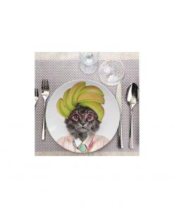 De l'élégance et de l'originalité dans votre assietteDécorez votre nouvelle alliée avec vos alimentsA déposer à la table d'une modeuseEn céramique