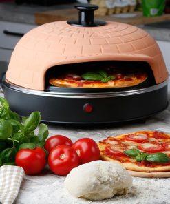 Idéal pour vos dîners entre amis ou en famille ! Faîtes vos pizzas maison ! Contient : 1 Four à Pizza Classique Pizzarette