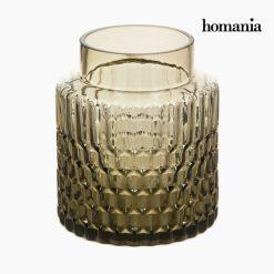 Vase Verre Marron - Collection Crystal Colours Deco by Homania
