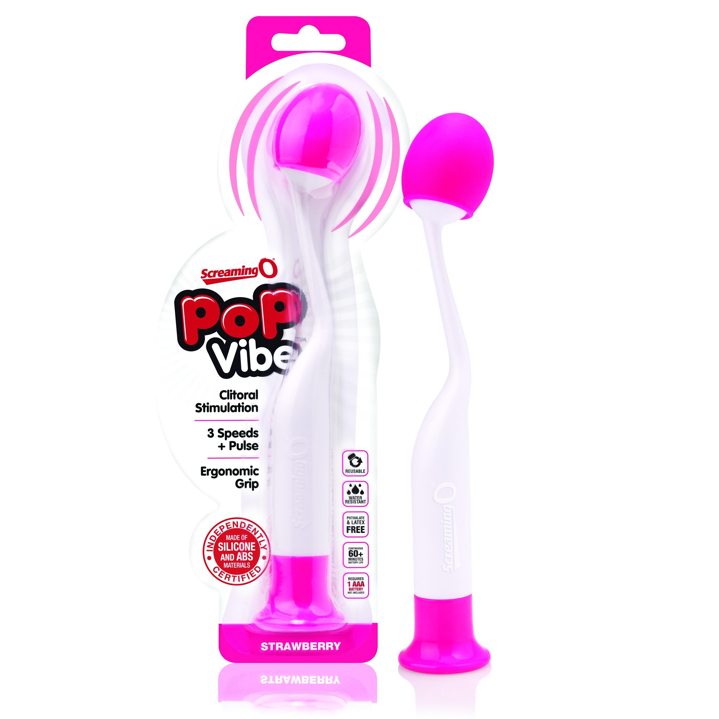 Stimulateur Vibrant Pop Vibe - Rose