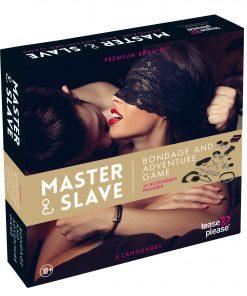 Master & Slave Premium - KIT BDSM