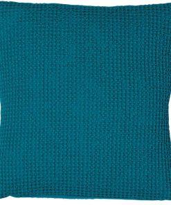 Coussin Maia Bleu Topaze 45 X 45 Vivaraise