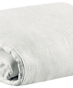Housse de couette Stonewashed Zeff Blanc 140 x 200 Vivaraise