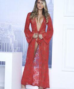 Peignoir Style 7116 - Rouge