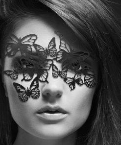 Masque Sybille - Noir