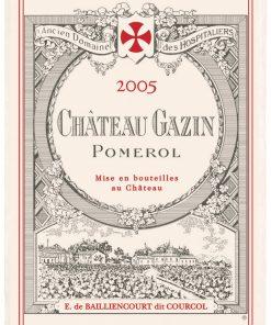 Torchon Imprime Château Gazin Ecru 48 X 72 Torchons & Bouchons