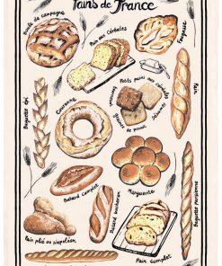 Torchon Pains de France Ecru Torchons & Bouchons
