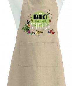 Tablier Bio Attitude Ficelle 90 x 72 Torchons & Bouchons