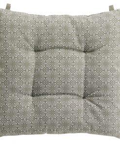 Galette de chaise Faya Ficelle 38 X 38 X 4 Les Ateliers du Linge