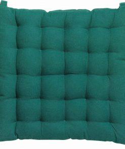 Coussin de chaise Mizo Emeraude 40 x 40 x 5 cm Winkler