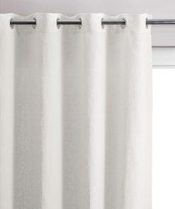 Rideau Stonewashed Zeff Blanc 140 x 280 Vivaraise