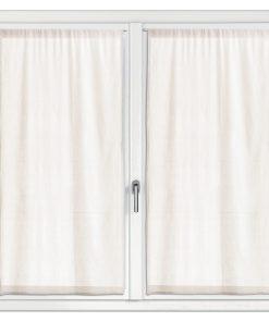 2 rideaux voile Touch Ecru 70 x 190 Les Ateliers du Linge