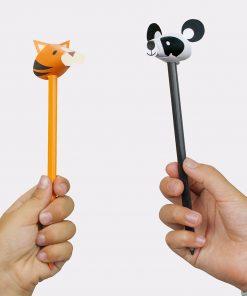 Ces crayons de couleur animaux de la jungle sauront parfaits pour colorier de nombreux dessins de la couleur que vous souhaitez ! Vous trouverez une tête de panda
