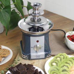 Un fontaine qui ravira tous les gourmands et qui permettra à petits et grands de partager un moment très chocolaté...