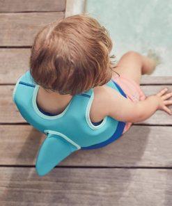 Idéal pour apprendre à nager et flotter dans l'eau. Pour des petits.Gilet de natation en polyester et spandex.