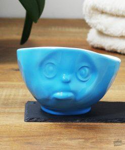 Buvez une bonne soupe ou boisson chaude dans un grand bol original et boudeur !Passe au micro-ondes et au lave-vaisselle ! Grand bol de 500 ml en porcelaine.