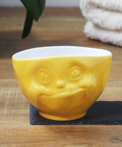 Buvez une bonne soupe ou boisson chaude dans un grand bol original et gourmand !Passe au micro-ondes et au lave-vaisselle ! Grand bol de 500 ml en porcelaine.