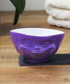 Buvez une bonne soupe ou boisson chaude dans un grand bol original et malin !Passe au micro-ondes et au lave-vaisselle ! Grand bol de 500 ml en porcelaine.