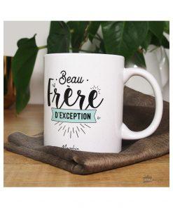Mais si il le mérite son mug rien qu'à lui votre beau-frère ! En céramique et 320 ml de contenance