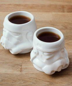 Remplissez jusqu'à 80 ml de café ! Tasses de qualité en céramique double paroi !