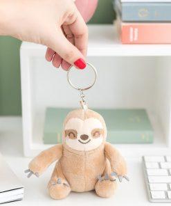 Ce Paresseux sera idéal pour ne plus perdre vos clés ! Emmenez-le partout avec vous chaque jour ! 100% polyester.