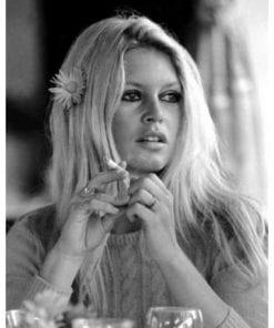 Affiche Brigitte Bardot - Portrait - Dimension 24x30 cm