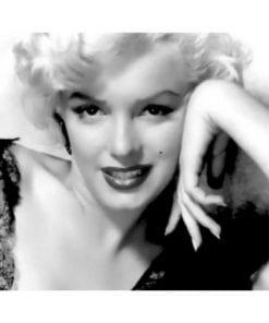 Affiche Marilyn Monroe - Portrait - Dimension 24x30 cm
