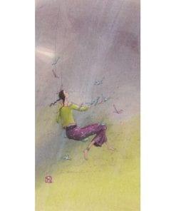 Carte Gaëlle Boissonnard 2019 - La balançoire - 10.5x21 cm