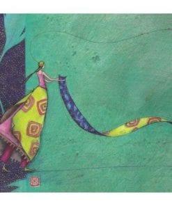 Carte Gaëlle Boissonnard 2019 -La danse du tapis - 14x16 cm
