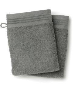 2 gants de toilette Cosy Ombre 15 x 21 Les Ateliers du Linge