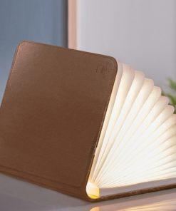 Petit livre lumineux pour vous éclairer les soirs durant votre lecture. Rechargeable grâce au câble USB. Déco idéale pour mettre sur un bureau.