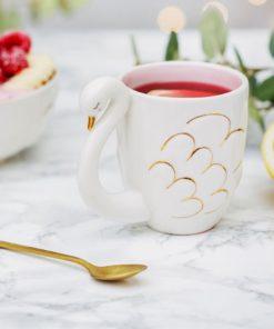 Mug de 300ml en porcelaine. Cadeau idéal pour des petits-déjeuners de luxe !