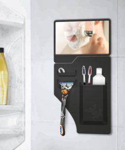 Porte accessoires de douche en silicone pour poser votre rasoir